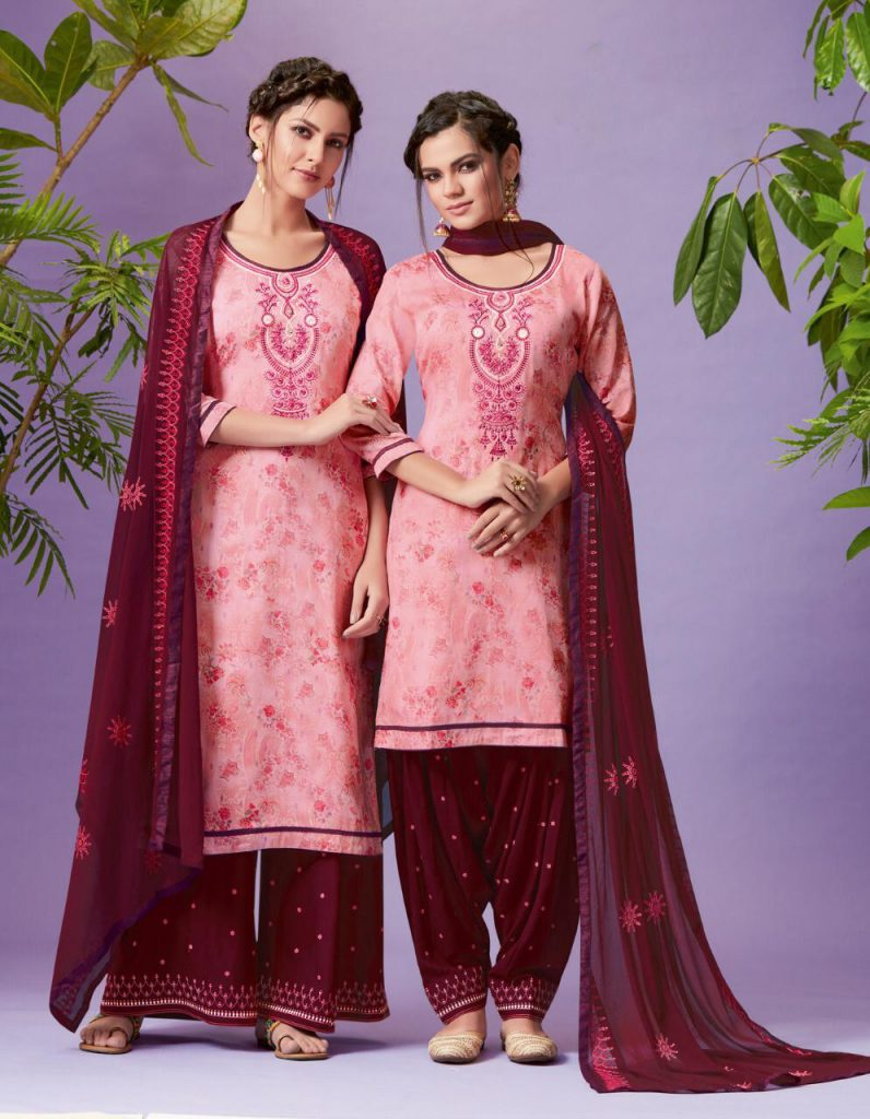 Eid Outfit With Patiala Shalwar